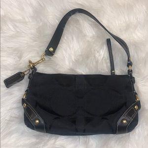 Black Coach Mini Shoulder Bag